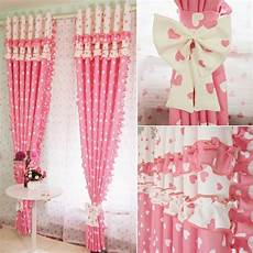 aliexpress buy pink blackout splice flounce curtains