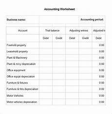 5 accounting worksheet templates free excel documents download free premium templates