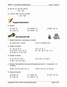 geometry worksheets grade 9 607 grade 9 applied math 2 6 polynomials barr