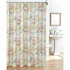 Fabric Shower Curtain giverny fabric plisse shower curtain set ebay