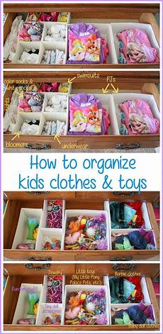 the easiest way to organize kids clothes and toys and keep them organized ask anna top