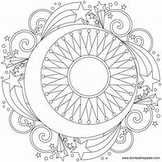 sun and moon coloring pages for adults at getcolorings