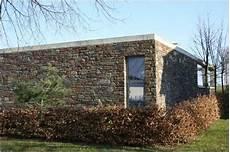 Architektenhaus Mit Einer Naturstein Fassade