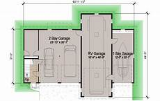 rv garage house plans island rv garage 45 motor home southern cottages