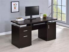home office computer furniture tracy desk contemporary cappuccino computer desk