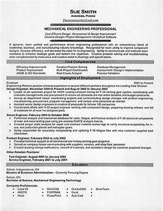 mechanical engineering resume exles engineering