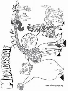 madagascar animals coloring pages 17085 madagascar coloring pages to and print for free