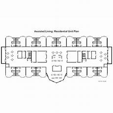 assisted living residential unit plan