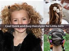 cool quick and easy hairstyles for little hairstyle for