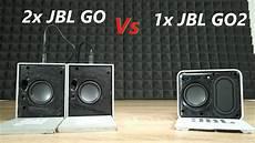 2x jbl go vs x jbl go 2 bluetooth speaker test no grill
