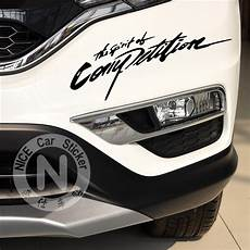 Car Stickers The Spirit Of Competition Racing Creative