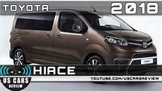 2020 toyota hiace 2018 car review car review