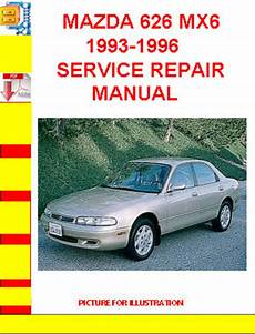 free auto repair manuals 1996 mazda 626 spare parts catalogs mazda 626 mx6 1993 1996 service repair manual download manuals a