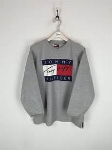 hilfiger sweatshirt grey xl with images