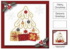 gold grey christmas tree presents 8x8 cup1011451 1763 craftsuprint