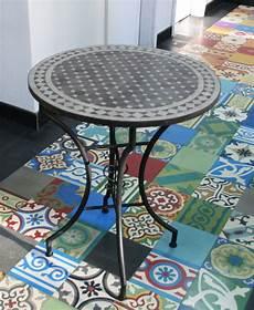 mosaiktisch rund mosaiktisch rund 60 cm keramikmosaik handarbeit