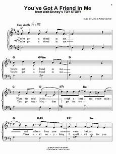 you ve got a friend in me from toy story by randy newman easy piano digital sheet music easy