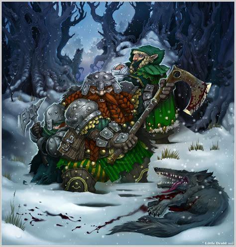 Female Dwarf Druid