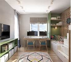 two modern homes with rooms for small children with floor a contemporary apartment with lots of open space