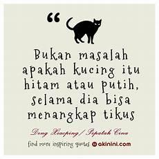Quot Bukan Masalah Kucing Hitam Atau Putih Quot Pepatah Cina