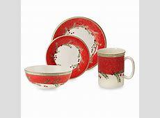 Lenox® Holiday Gatherings Holiday Wreath Dinnerware   Bed