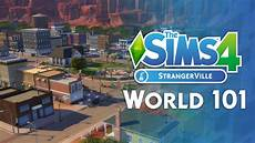 the sims 4 strangerville the new world lots and