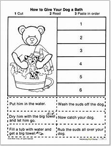 new 941 first grade cut and paste reading worksheets firstgrade worksheet