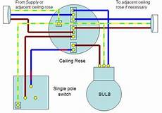 home wiring guide single way lighting circuit electric info pinterest