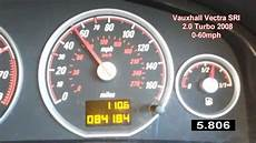 60mph In Kmh - vauxhall vectra 2 0 sri turbo 0 60 mph z20net 0 100 km h
