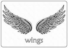 Malvorlagen Xl Wings Free Printable Wings Coloring Pages