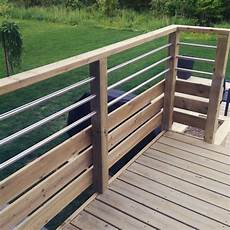 balcon bois extérieur re balcon bois trait 233 des id 233 es deck railing