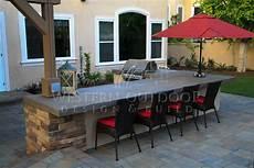 outdoor kitchen island designs san diego landscaper western outdoor design build bbq