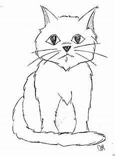 Ausmalbilder Siamkatze Traurige Katze Ausmalbild Malvorlage Comics