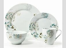 Mikasa ?Silk Floral? Teal Dinnerware   Everything Turquoise