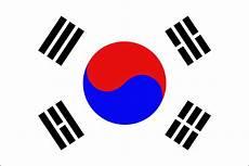 Gambar Bendera Korea Selatan Gambar Bendera Negara