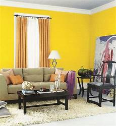 Yellow And Living Room