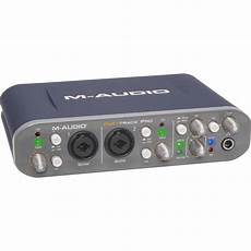 M Audio Fast Track Pro Usb Audio Midi Interface 9900 51076 00