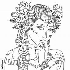 beauty coloring page beautiful women coloring pages for