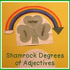 s day adjectives worksheets 20304 degrees of adjectives st s day theme adjectives superlative adjectives teaching