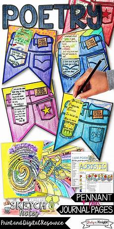 poetry lesson for high school students 25405 poetry writing activities poem in your pocket pennant creative and language