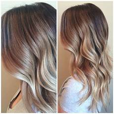 balayage blond beige balayage highlights brown melt waves ombr 233 beachy
