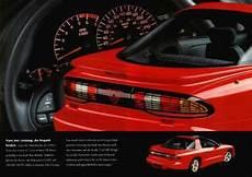 old cars and repair manuals free 1993 pontiac trans sport electronic valve timing 1993 pontiac firebird brochure