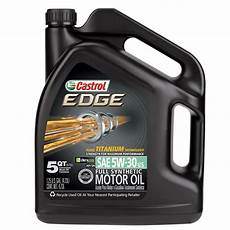 castrol edge 5w 30 synthetic motor 5 qt jet