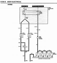 e36 horn wiring diagram unofficialbmw com view topic horn very weak