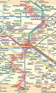 subway porte d orléans line 4 map metro
