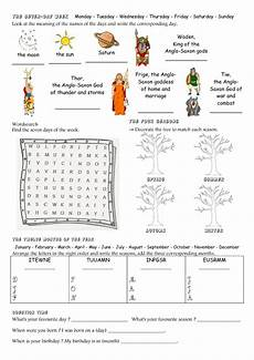 worksheets seasons and days of the week 14784 days months and seasons