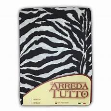 copriletto zebrato telo arredo gran foulard in puro cotone misura 1 piazza