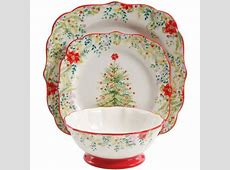 12 Piece Dinnerware Set The Pioneer Woman Holiday