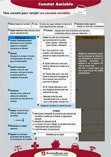 comment remplir un constat comment remplir un constat amiable acommeassure assurance auto