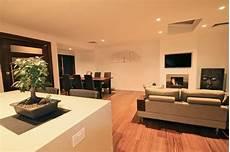 semi detached conversion modern living room sydney